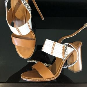 Coach open toe sandal